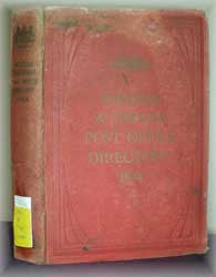 Western Australia Post Office Directory 1924 (Wise's)