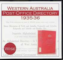 Image unavailable: Western Australia Post Office Directory 1935-36 (Wise)