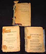 Irish (Canada & USA) Song Books, Erin-go-Bragh & Faugh-A- Ballagh -c1873