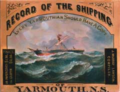 A Compendium of the Shipping of Yarmouth, N.S. (from 1761 - to 1902)