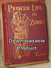 Pioneer Life in Zorra - 1899 (by Download)