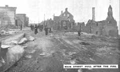 Report of the Ottawa and Hull Fire Relief Fund (Date of fire: 26 & 27 April 1900.)