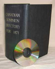 Lovell's Canadian Dominion Directory - 1871  (Nova Scotia section)