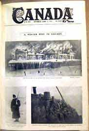 """Canada"" - April through August, 1916 (An illustrated weekly journal ....)"