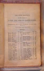 City of Toronto & the Home District Directory for 1837, by George Walton.