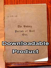 The History of the Parish of Hull Quebec, 1823-1923.  by Rev. E. G. May & W. H. Millen. (by Download)