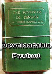The Scotsman in Canada Vol. 1 - Eastern Canada (by Download)