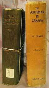 The Scotsman in Canada Vol. 1 - Eastern & Vol. 2 - Western, Canada
