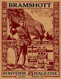 The Bramshott Souvenir Magazine - 1918.  (Published in England for Canadian troops.)