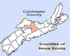 Historical and Genealogical Record of the First Settlers of Colchester County, N.S. - 1873