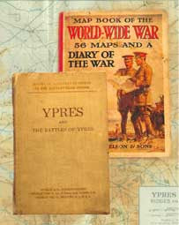 A Collection of Maps from the Great War (WWI) era.