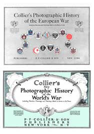 Photographic History of the War - 1916 & 1919