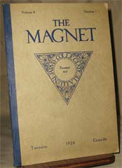 Image unavailable: The Magnet, Vol.8 No.1 (1926), Jarvis Collegiate Inst. Year Book