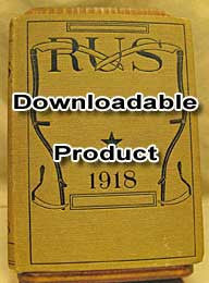 RUS (Rural Uplook Service) - 1918 Compiled by Liberty Hyde Bailey (by Download)