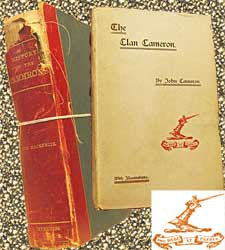 Cameron Family Compilation A History of the Camerons - 1884 & The Clan Cameron - 1894