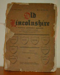 Image unavailable: Old Lincolnshire - A Pictorial Quarterly Magazine