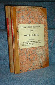 Poll Books for Tewkesbury Elections, 1832 and 1835