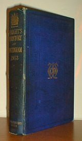 1913-14 Wright's Directory of the City of Nottingham and Neighbourhood