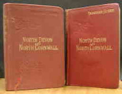 Image unavailable: Baddeley & Ward, Guide to North Devon and North Cornwall, 8th & 9th editions, 1904 & 1912
