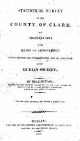 Statistical Survey of County Clare, 1808