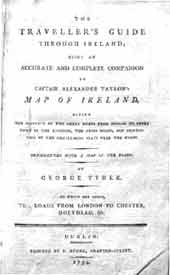 Tyner's Traveller's Guide Through Ireland, 1794