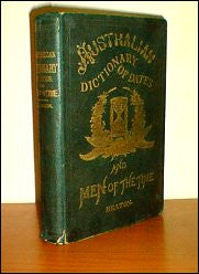 Australian Dictionary of Dates and Men of the Time 1879 - F. Heaton