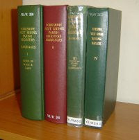 Image unavailable: Yorkshire West Riding Parish Registers - Marriages (4 Vols)