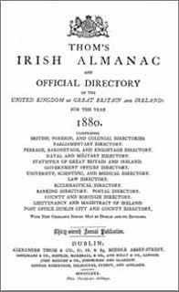 Thom's Irish Almanac 1880