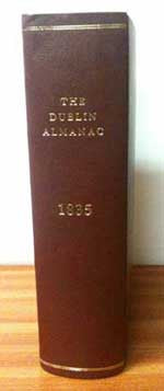 Pettigrew and Oulton, The Dublin Almanac and General Register of Ireland, 1835
