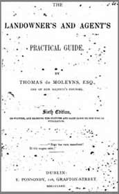 Thomas de Moleyns, Esq. The Landowner's and Agent's Practical Guide, 6th Edition, 1872