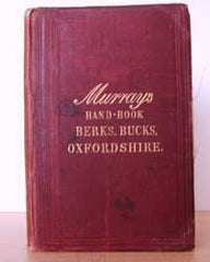 Image unavailable: Murray's Handbook for Travellers in Berks, Bucks and Oxfordshire, 1882