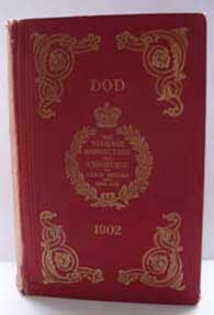 Dod's Peerage, Baronetage and Knightage of Great Britian and Ireland for 1902