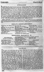 Pigot's Commercial Directory of Ireland, 1824, Connaught section