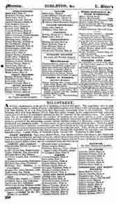 Slater's Commercial Directory of Ireland, 1846, Munster, Cork & Limerick Sections