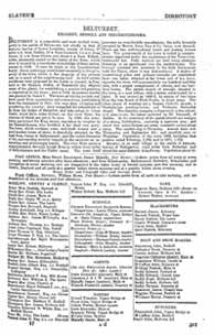 Slater's Commercial Directory of Ireland, 1881, Ulster & Belfast Sections