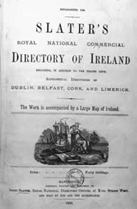 Slater's Commercial Directory of Ireland, 1881, Compendium of all sections