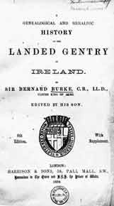 Burke's Landed Gentry of Ireland, 1899