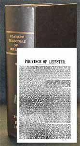 Slater's Royal National Directory of Ireland 1894: Leinster & Dublin city Sections