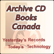 Archive CD Books Canada