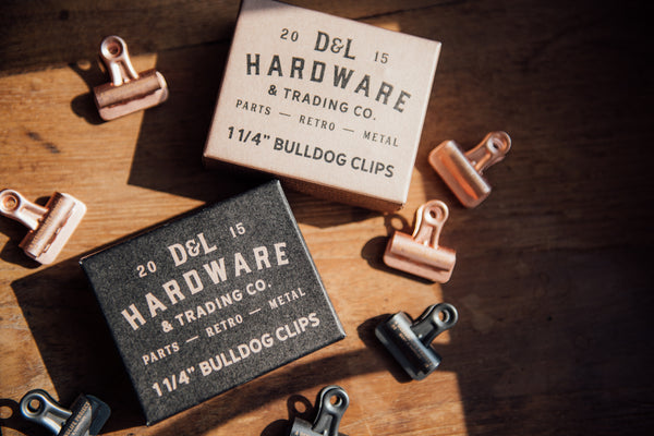 D&L bulldog clips
