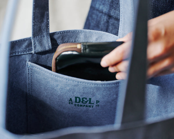 D&L DUMBO BAG 灰藍Tape