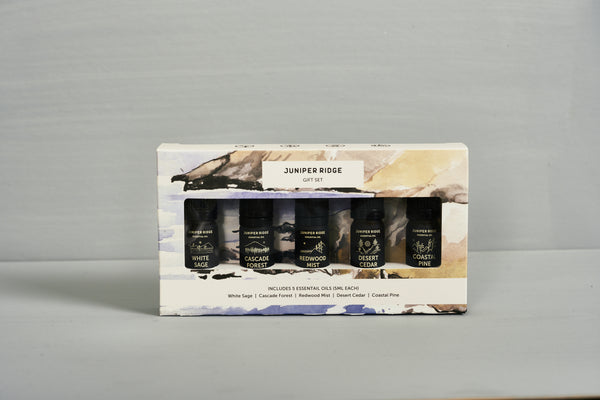 Juniper Ridge Essential Oil 5-Pack Gift Set 精油