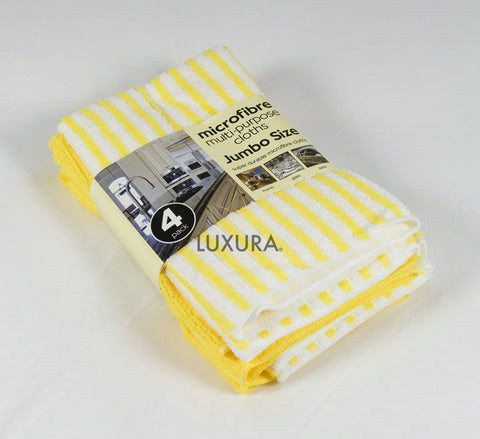 Microfibre Cleaning Cloth - 4 Pack