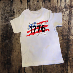 1776 Flag 4th of July Shirt