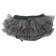 Charcoal Gray Sparkle Tutu Bloomer