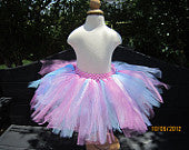 Blue, Pink and White Tutu