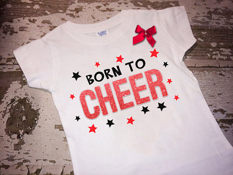 Born to Cheer with a Bow
