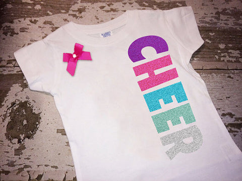 Side Cheer Shirt with Bow