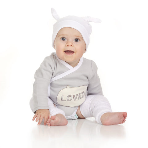 Loved Onesie, Legwarmers and Hat Set