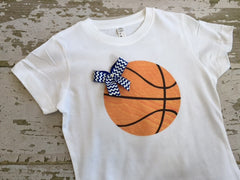 Basketball Sister T-Shirt Personalized with Your Team Colors